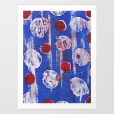Dotty Art Print