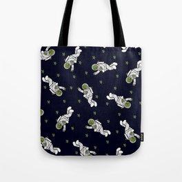 Astro Terrarium Pattern Tote Bag
