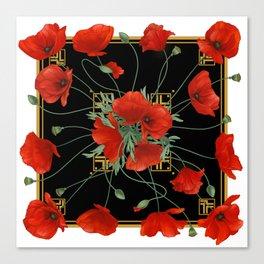 Poppy Stravaganza Canvas Print