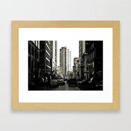 Traffic Framed Art Print