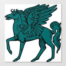 Pegasus shield 7. Canvas Print