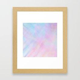 Abstract Pastel Design Framed Art Print