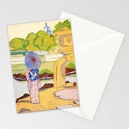 Hamarikyu Gardens - Digital Remastered Edition Stationery Cards