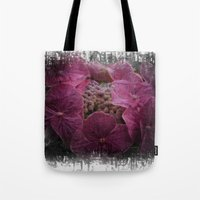 hydrangea Tote Bags featuring Hydrangea by Paul & Fe Photography