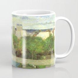 """Paul Gauguin - The Market Gardens of Vaugirard """"Les Maraîchers de Vaugirard"""" (1879) Coffee Mug"""