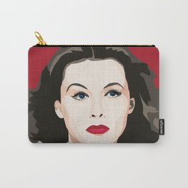 Hedy Lamarr portrait Carry-All Pouch