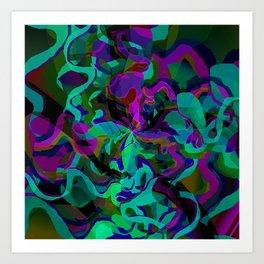 Midnight Vape Art Print