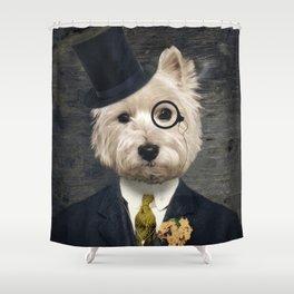 Sir Bunty Shower Curtain