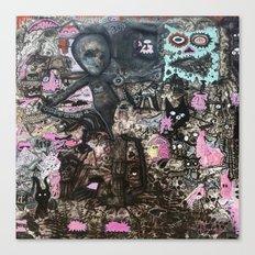 Alien Meditation Canvas Print