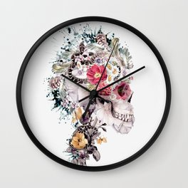 Momento Mori X Wall Clock