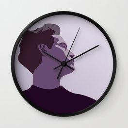 Model Man B (Purple Hue) Wall Clock