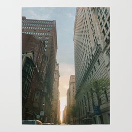 Philly Street View Poster