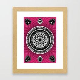 Pink punk Framed Art Print