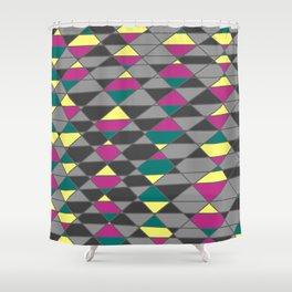 jewel tone Shower Curtain