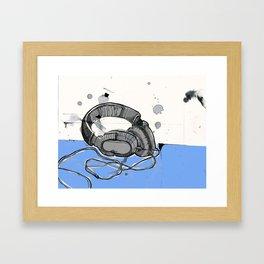 Listen Up Framed Art Print