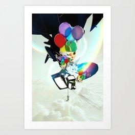 Fabricated Dreams Art Print