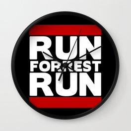 Forrest Gump Run Wall Clock