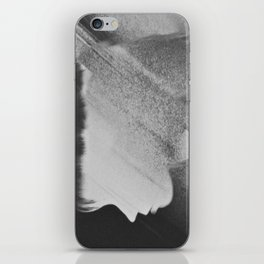 Faceless Charcoal iPhone Skin