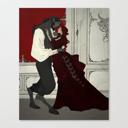 Dancing Lessons Canvas Print