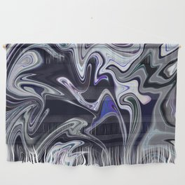 Mixed dark abstract Wall Hanging