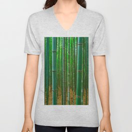 BAMBOO FOREST1 Unisex V-Neck