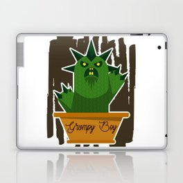 Cactus Grumpy Boy Laptop & iPad Skin