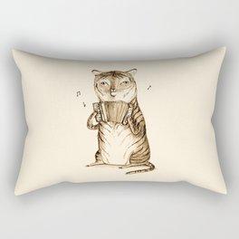 Accordion Tiger Rectangular Pillow