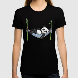 iPod Panda - The Lazy Days T-shirt