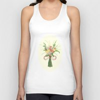 into the wild Tank Tops featuring Wild by Jade Young Illustrations