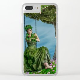 Come and rock me! Clear iPhone Case