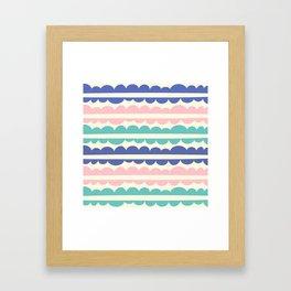 Mordidas Pop Framed Art Print