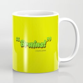 Dumb Zombie Coffee Mug