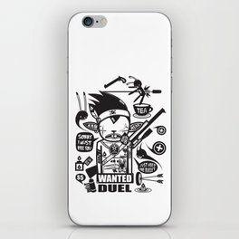 SORRY I MUST KILL YOU ! - DUEL iPhone Skin
