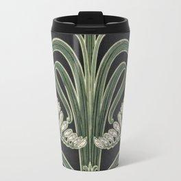 Art Nouveau Botanical Travel Mug