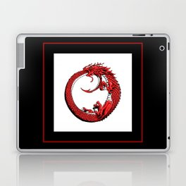 The Wyrm Turned Red Laptop & iPad Skin