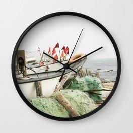 Fishing tackle IV Wall Clock