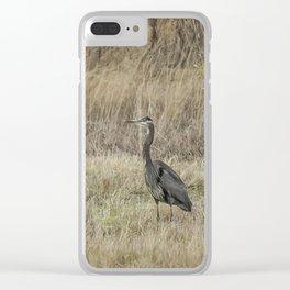 In a Field Clear iPhone Case
