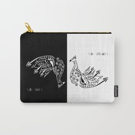Black Swan vs White Swan Carry-All Pouch