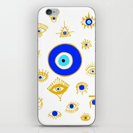 evil eye iPhone Skin