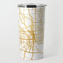 BALTIMORE MARYLAND CITY STREET MAP ART Travel Mug