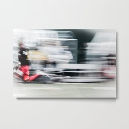 Speed Kills  Metal Print