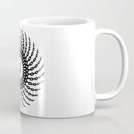 Disc Golf Basket Chains Coffee Mug