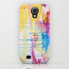BRIGHTER DAYS - Beautiful Soft Pastel Colours Painting Rain Cloud Sunny Sky Abstract Nature Acrylic Slim Case Galaxy S4