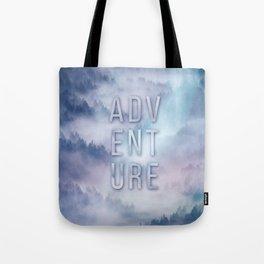Adventure Typo Tote Bag