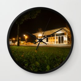 Bus and trainstation Wall Clock