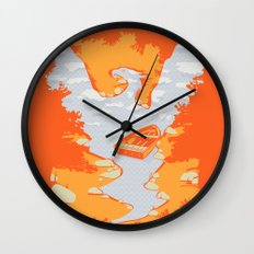 River Phoenix - Autumn Wall Clock