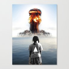 Nuke My Home Canvas Print