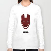 ironman Long Sleeve T-shirts featuring IRONMAN by agustain