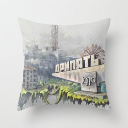 Pripyat Throw Pillow
