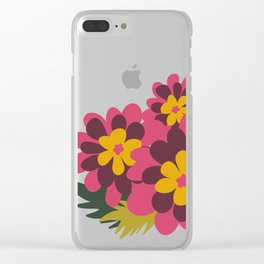 Flowers for Lola Clear iPhone Case